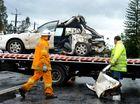 Car crash on Tweed valley way.