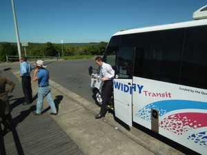 Show buses to depart from M'boro and Bay shopping centres