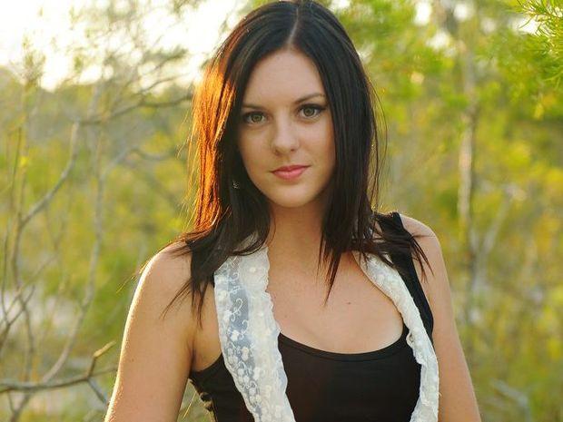 Sunshine Coast songstress Taylor Moss.