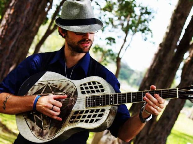 Gympie singer-songwriter Andrew Weller will perform his original songs at live@thechapel at the Lutheran Church this Sunday.