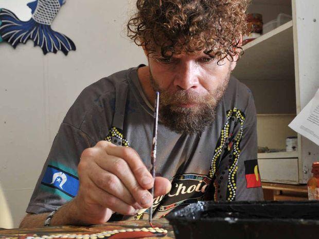 ARTISTIC FOCUS: Robin Wakkajinda wants to help.