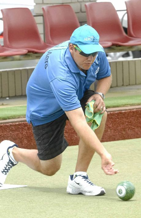 READY TO ROLL: Brett Wilkie is among the top names getting ready for next month's $8000 Classic Pairs at South Lismore Bowling Club.