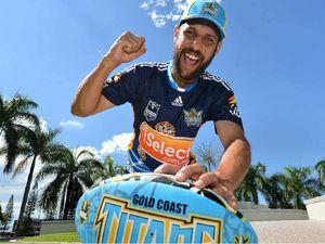 Titans fans in full voice ahead of Mackay NRL trial