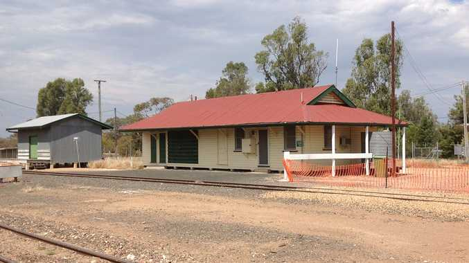ON THE MOVE: The Thallon railway station will become the town's new sporting clubhouse on March 5.