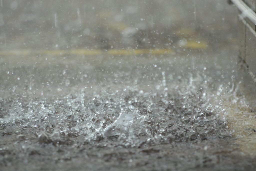 Rain Photo Peter Holt/ Daily Mercury