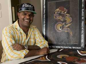 Artist looks to keep indigenous pride burning bright