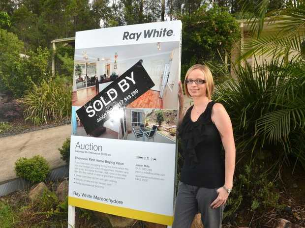 Mel Fowler is looking forward to moving into her new home at Buderim.