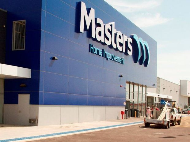 The finished Masters Home Improvement mega-store in Middle Ridge will look very similar to the company's recently-opened outlet at Oakleigh South in Victoria.