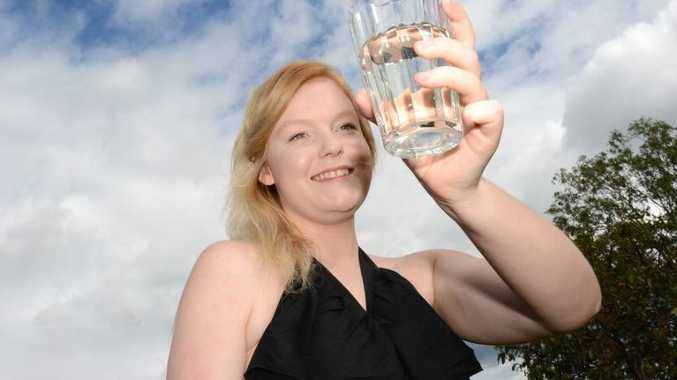 Laura Garrett puts Gympie's water under the microscope.