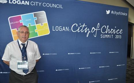Kevin Crompton, who spoke at last weeks Logan: City of Choice Summit.