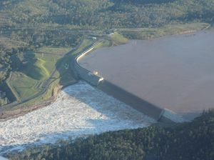 Water to be released to reveal Paradise Dam damage
