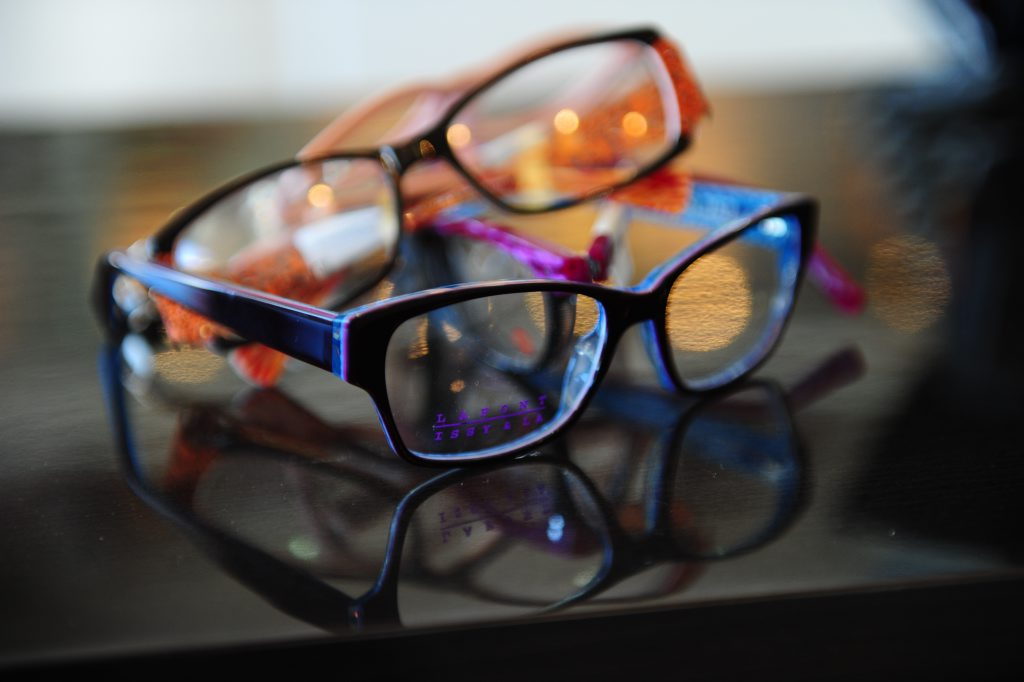 Glasses from Gladstone Vision.