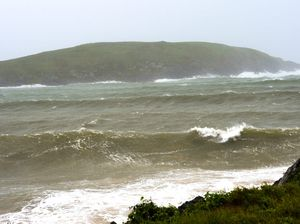 Wild winds whip up dangerous surf