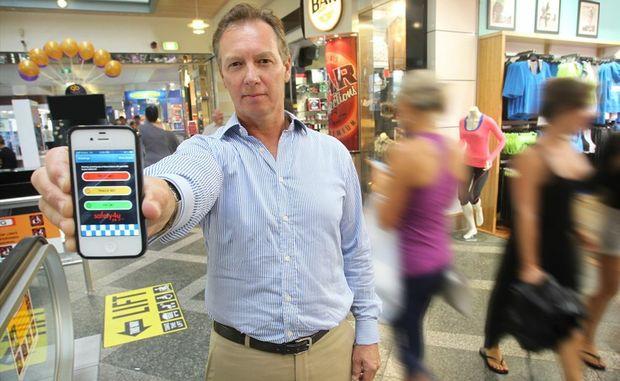 Mark Kratzmann has created a safety app for phones, safety4u24-7.