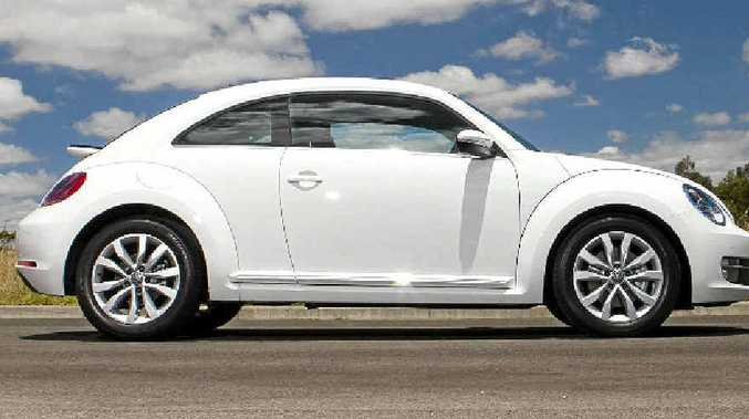 The new Volkswagen Beetle.
