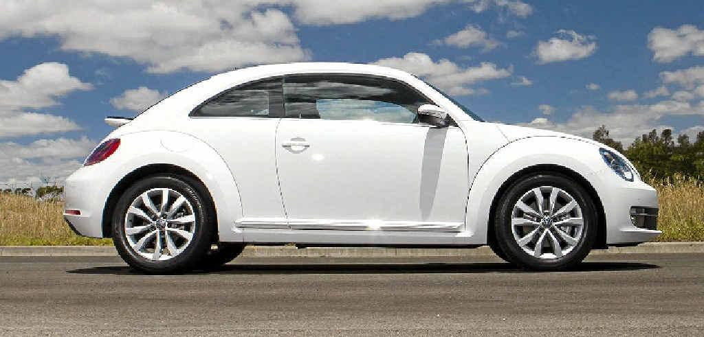 The new Volkswagen Beetle.