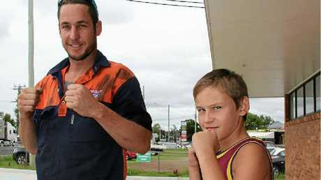 Craig Windle and Nick Newley from Rose City Boxing Club will head to Beenleigh for their first fights tomorrow.