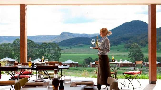 Country Kitchen at Wolgan Valley Resort & Spa.