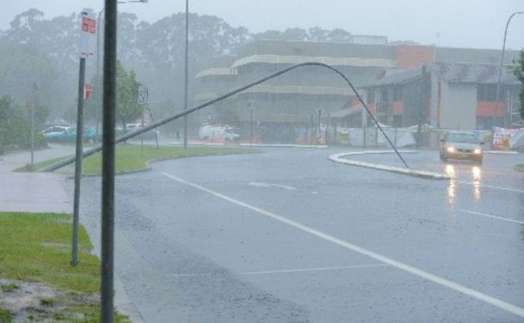 The storm damage will begin to be assessed today, but more heavy rain may be on the way.