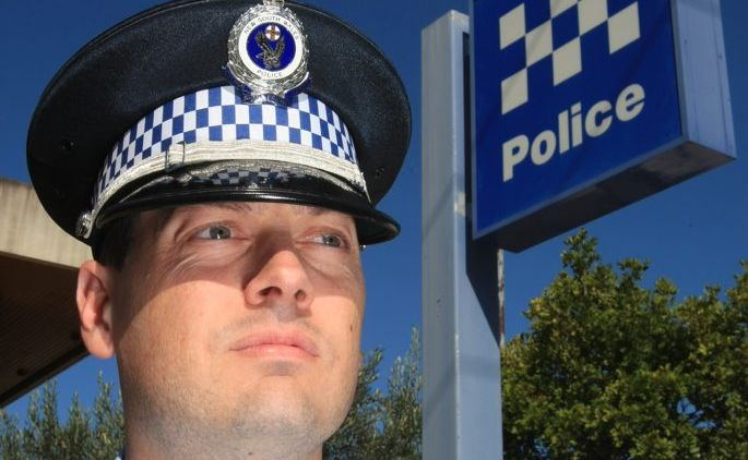 Tweed-Byron Local Area Command crime manager Acting Inspector Saul Wiseman.