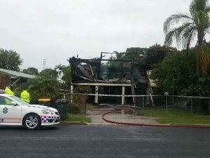 No one inside Maryborough house destroyed by fire