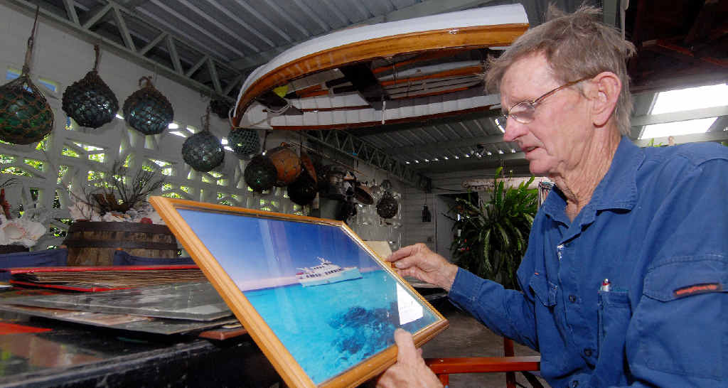 Former part-owner of the Elizabeth E ll charter boat Bob Evetts hopes the popular vessel will stay in Mackay waters even though the current operators Coral Sea Charter Company are in administration.