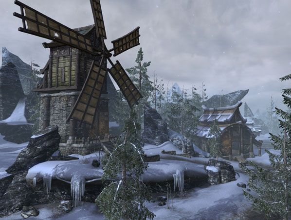 Screenshots from Bethesda's upcoming Elder Scrolls MMO.