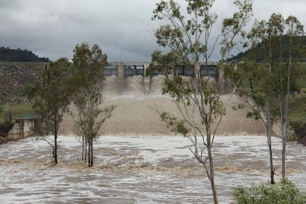 More water is being released from Callide Dam.