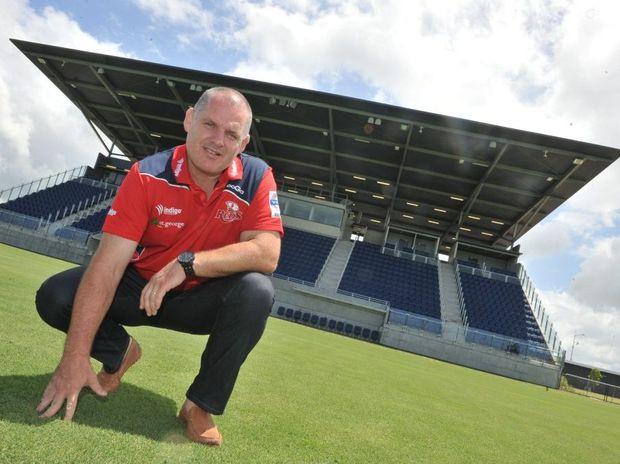 Queensland Reds director of coaching Ewen McKenzie.