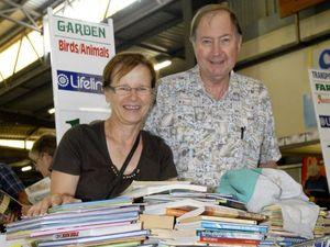 Volunteers gear up for Toowoomba's big Bookfest