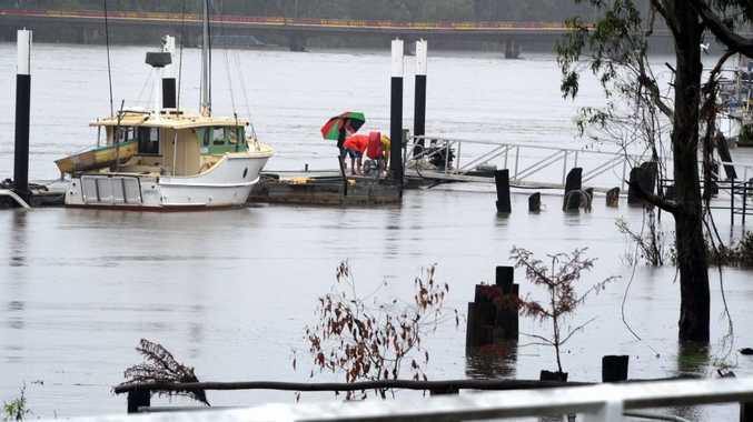 One of the suggestions put forward by the Granville Community Coordination Committee is allowing limited river crossings for business owners whose buildings are in danger of being inundated.