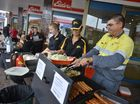 Sausages sizzle for flood-affected Boyne Valley residents