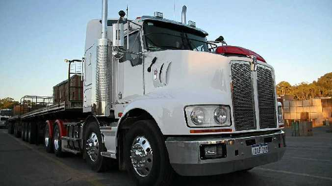 DOING THE JOB: Kenworth's T409/609 will easily deputise for the odd road train as well.