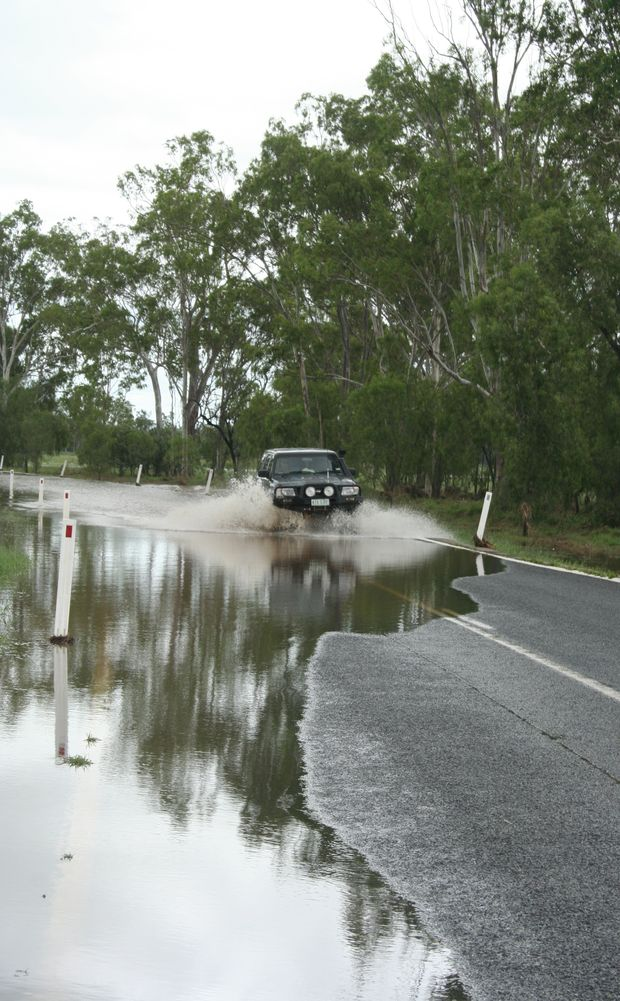 Cars are now able to travel from Biloela to Banana.