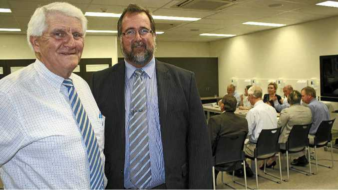 Darling Downs Hospital and Health Board chairman Mike Horan met with Southern Downs mayor Peter Blundell (pictured) and other councillors.