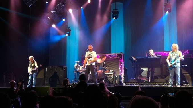 Deep Purple rocked the Brisbane Entertainment Centre on Tuesday night.