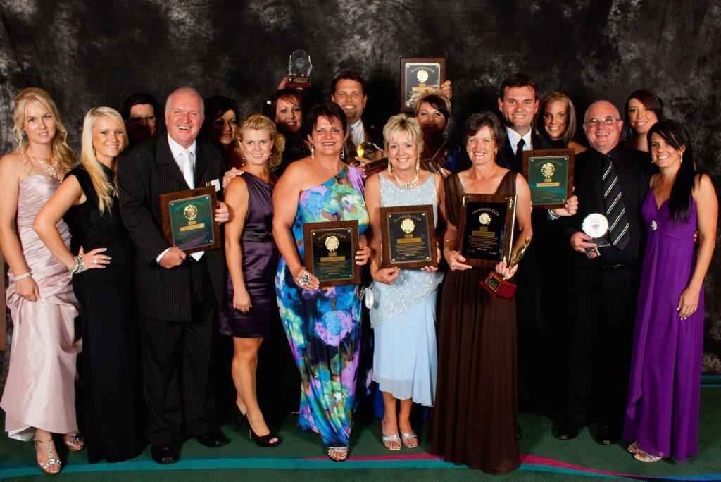 The Gladstone Re/max Gold team at the Re/max Australia Awards night.