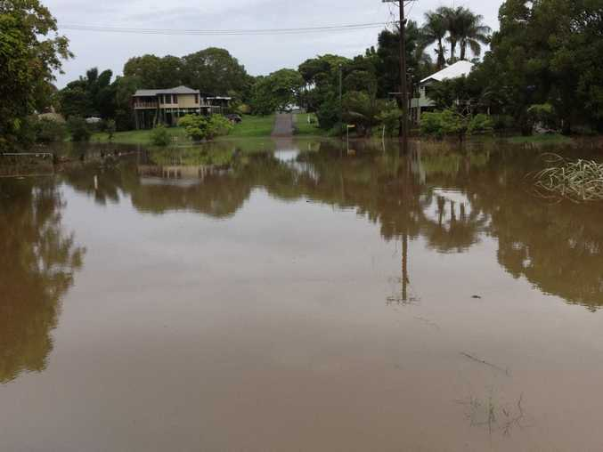 The Pocket end of Albert St in Maryborough about 8.30am on Wednesday. Photo: Robyne Cuerel