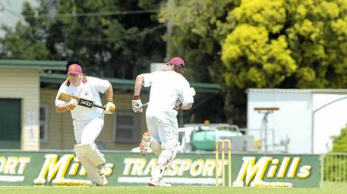 LUCK NEEDED: Alstonville's Steve Robb in action earlier in the season. The club is hoping Hill Park Oval, Wollongbar is playable this weekend.