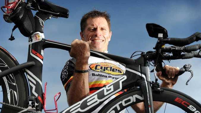 Ballina triathlete Craig Gibson
