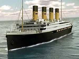 First class steward descendant on Titanic II advisory board