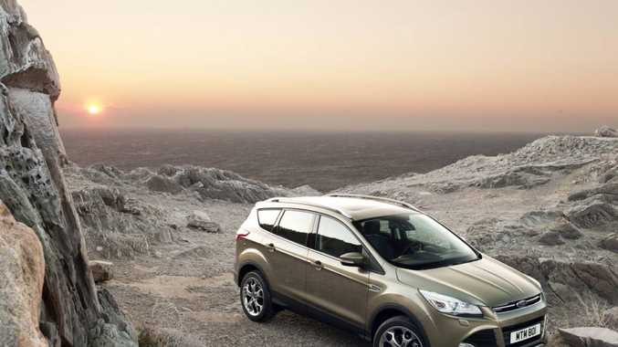 The new Ford Kuga will be available in April.