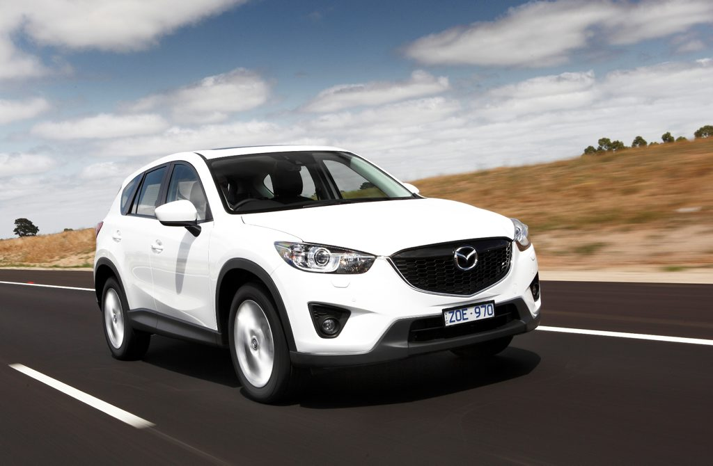 Mazda has added a 2.5-litre petrol to its range.