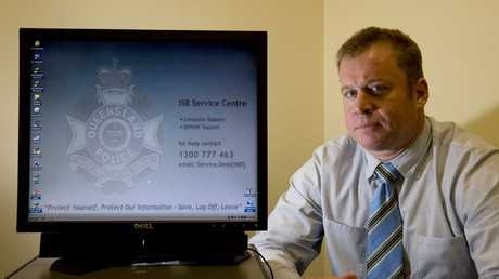 Detective Senior Sergeant Matt Howard of Toowoomba's Child Protection Investigation Unit is urging parents to be aware of who their children are talking to online.