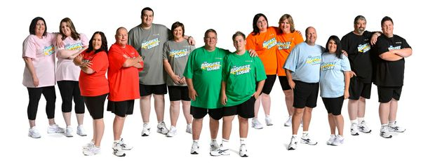 Group shot of all the Biggest Loser teams.