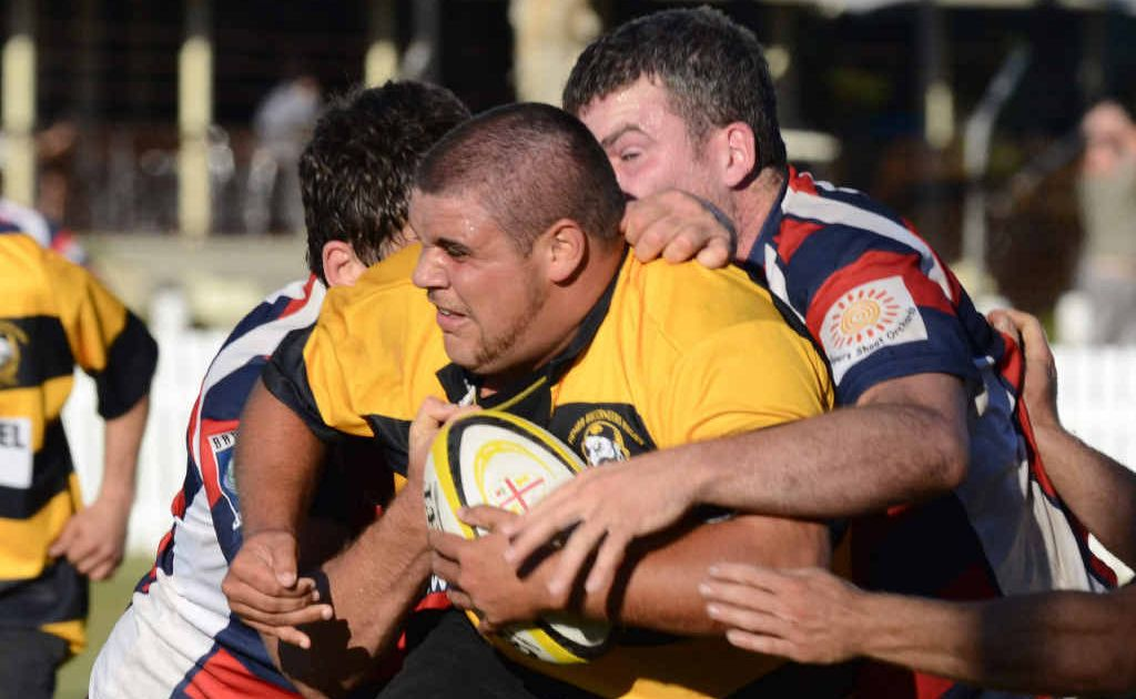 Jordan Walker in action for the Yamba Buccaneers against Bangalow at Yamba Park last season. The Buccaneers have been told they must step up to the first grade this year. Photo: Debrah Novak/The Daily Examiner
