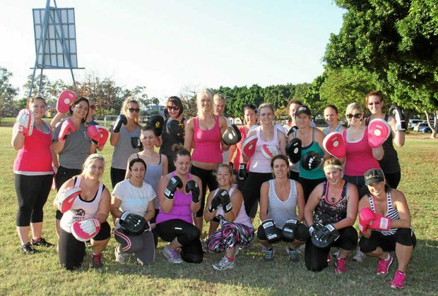 FIT AND FOXY: The Sexy Time Fitness fanatics will be heeading indoors next week as the new centre opens its doors.