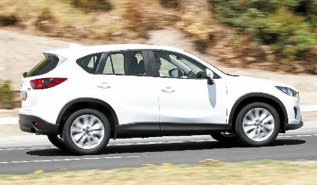 The new Mazda CX-5.