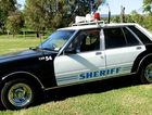 Three Warwick Freemasons are doing up this 1982 ZH Ford Fairlane for the Variety Bash. Car 54 was a 1960s sit com.