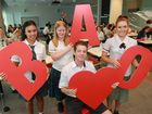 GIVING BACK: Students signing up to be Red Cross Blood Service youth ambassadors include Summer Johnson, Jacob Harrison, Molly O'Dwyer and Samantha Kalandyk.